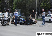Photo of Accident cu trei masini si o motocicleta pe Bld. Magheru, ora15.45. Motociclistul a fost ranit usor